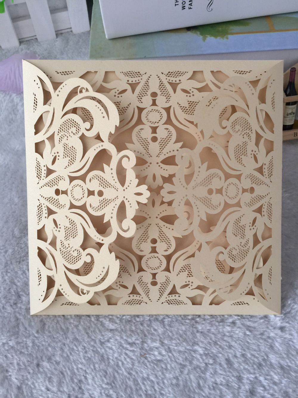 High Quality Invitation Cards Laser Cut Indian Wedding Can Provide Print Service In Invitations From Home Garden On