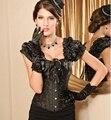 Espartilho sexy para as mulheres roupas góticas steampunk corset aço desossado espartilhos e corpetes cintura shaper do espartilho do vestido de casamento