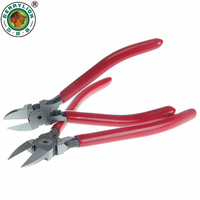BERRYLION 5 6 Plastic Cutting Pliers Electrical Wire Cutting Side Cable Cutters CR V Outlet Clamp