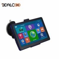 Dealcoo 7 Inch HD Car Track GPS Navigation WinCE 6 0 128M 8G Navitel Russia Belarus