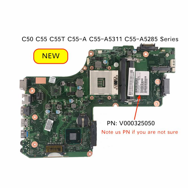 Original New V000325050 Mainboard For Toshiba Satellite C50 C55 C55T C55-A5311 C55-A C55-A5285 Laptop Motherboard