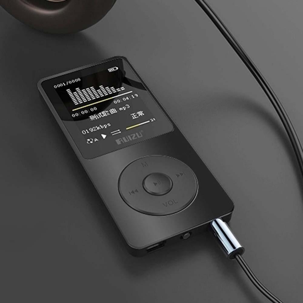 sale 1 8 tft screen black ruizu x02 hifi 4g reproductor lecteur sport mp3 music player fm. Black Bedroom Furniture Sets. Home Design Ideas