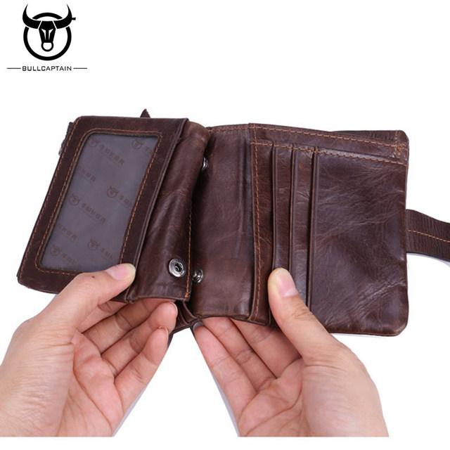 BULL CAPTAIN Leather Men Wallet