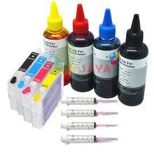 Inkt Cartridge T1281 Refill vol INKT Kit Voor Epson S22 SX125 SX130 SX230 SX235W SX420W SX425W SX435W SX438W SX440W SX445W SX445WE
