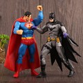 2016 Superman vs Batman Action Figure Dark Knight Toys 18 CM PVC Model Dolls Set Arkham Knight Juguetes Boys Kids Classic Toys