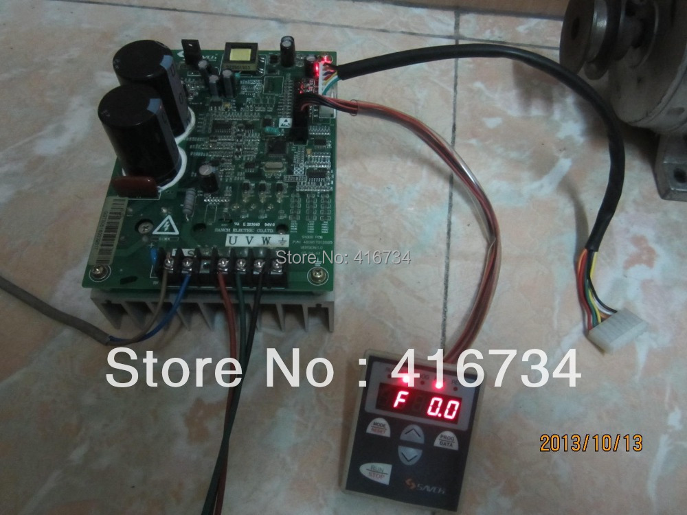 Hot Selling Used Frequency Converter  Free Shipping Sanch S100 220V 400W 0.4KW free shipping ps 42k8 frequency board 782 psik8l 400b used disassemble