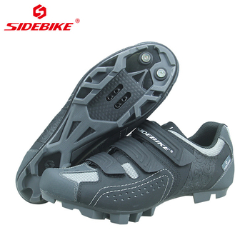 Sapatos Das Mulheres Dos Homens de Bicicleta de Montanha Profissional Ciclismo Bloqueio SIDEBIKE Sapatos Reflexivo Não-slip-resistente ao Desgaste Bicicleta MTB Sneaker