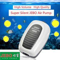 JEBO Super Aquarium Air Pump Compressor For Aquarium Fish Tank Adjustable Silent Quiet Air Control Aquarium Accessories 6100