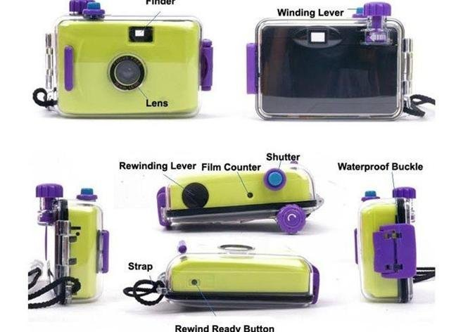 Cheap Polaroid Camera | 20pcs/lot Free Shipping NEW Hotsale! Underwater Lomo Waterproof Scuba Film Camera