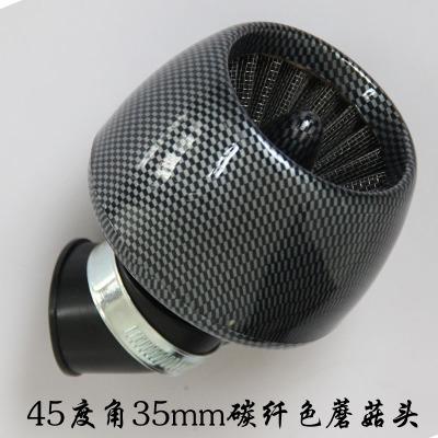 Calidad de Carbono Filtro de Aire Del Motor Más Limpio Para la Vespa GY6 JOG50 SOG/DIO Bicicleta Motorizada Gas Scooter Pocket Bike 35 MM Pit Bike