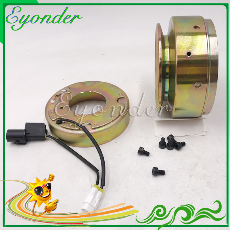 A/C AC Air Conditoning Compressor Electromagnetic Magnetic Clutch PV1 for MITSUBISHI DELICA SPACEGEAR SPACE GEAR L400 2.8L 2.8 ac a c air conditioner corolla for audi a4 for mercedes benz new electric compressor magnetic clutch hub removing remove tool