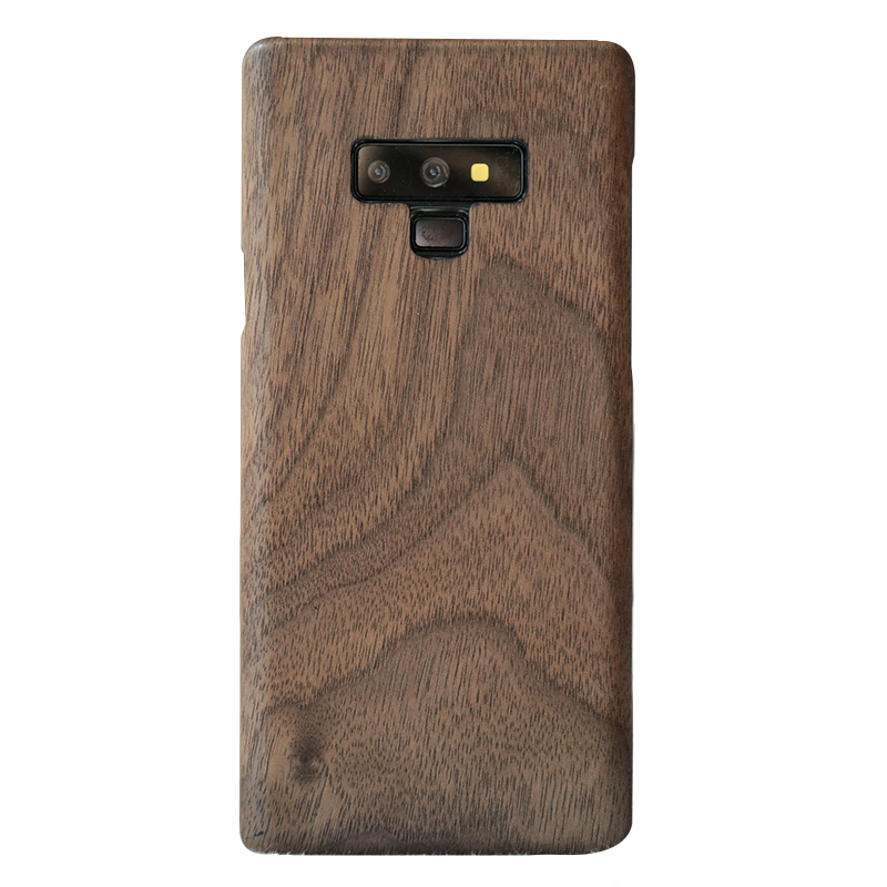 Image 2 - walnut Enony Wood Rosewood MAHOGANY Wooden Back Case Cover For Samsung Galaxy S8 S8+ Note 8 Note 9 Note 10+-in Fitted Cases from Cellphones & Telecommunications