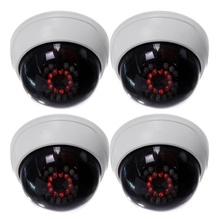 цены 4 in1 Indoor CCTV Fake Dummy Dome Security Camera with IR LEDs Analog camera