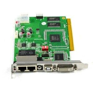Image 3 - Linsn TS802 متزامن كامل اللون إرسال بطاقة ، LED تحكم الفيديو 1280*1024 بكسل دعم P2.5 P3 P4 P5 P6 P7.62 P8 P10 LED
