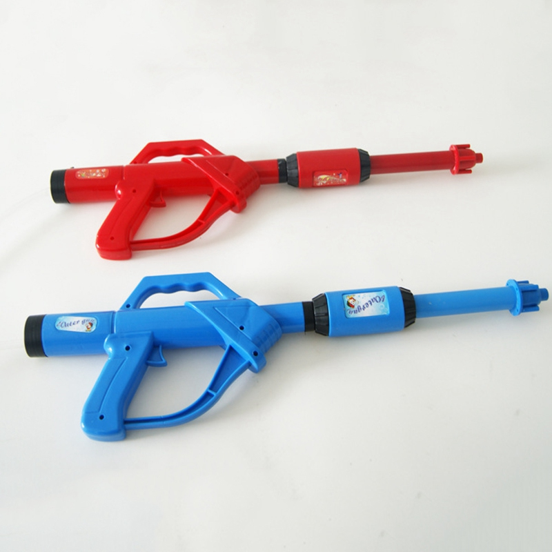 Drop Shipping Long Pump Plastic Water Gun Toy Airsoft Pistol Kids Beverage Squirt Bottle Squirt Gun