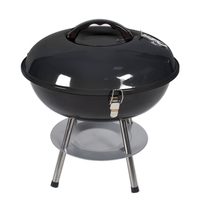 14 Inch Round Four Legs With Cover Charcoal Grill Barbecue Tray BBQ Grill Charcoal Grill Mini New Type Tooking Grid Dropshipping