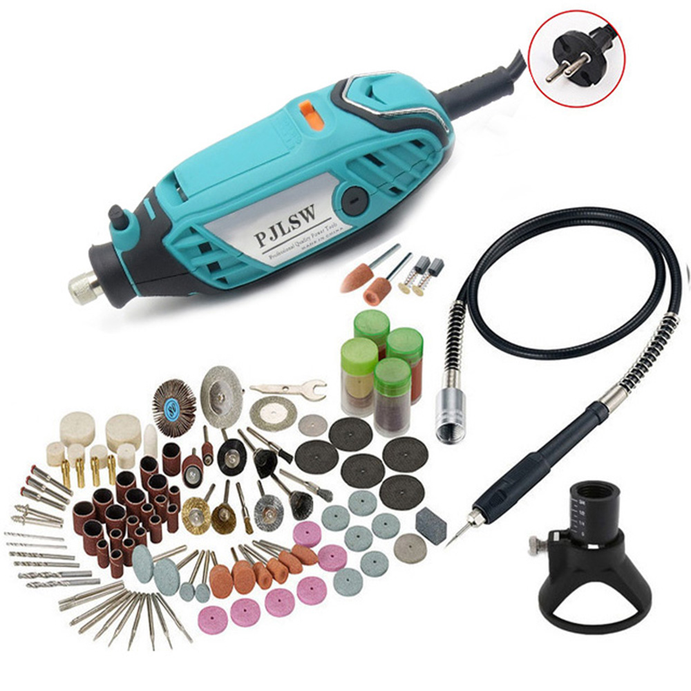 PJLSW 220V / 110V mini mill DIY professional electric hand drill 130W