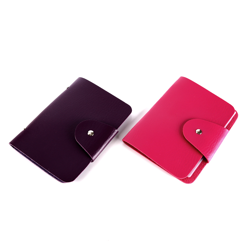 Pu Leather Nail Stamping Plate Collection Case Template Holder 2colors Beautiful Manicure Organizer 16Slots