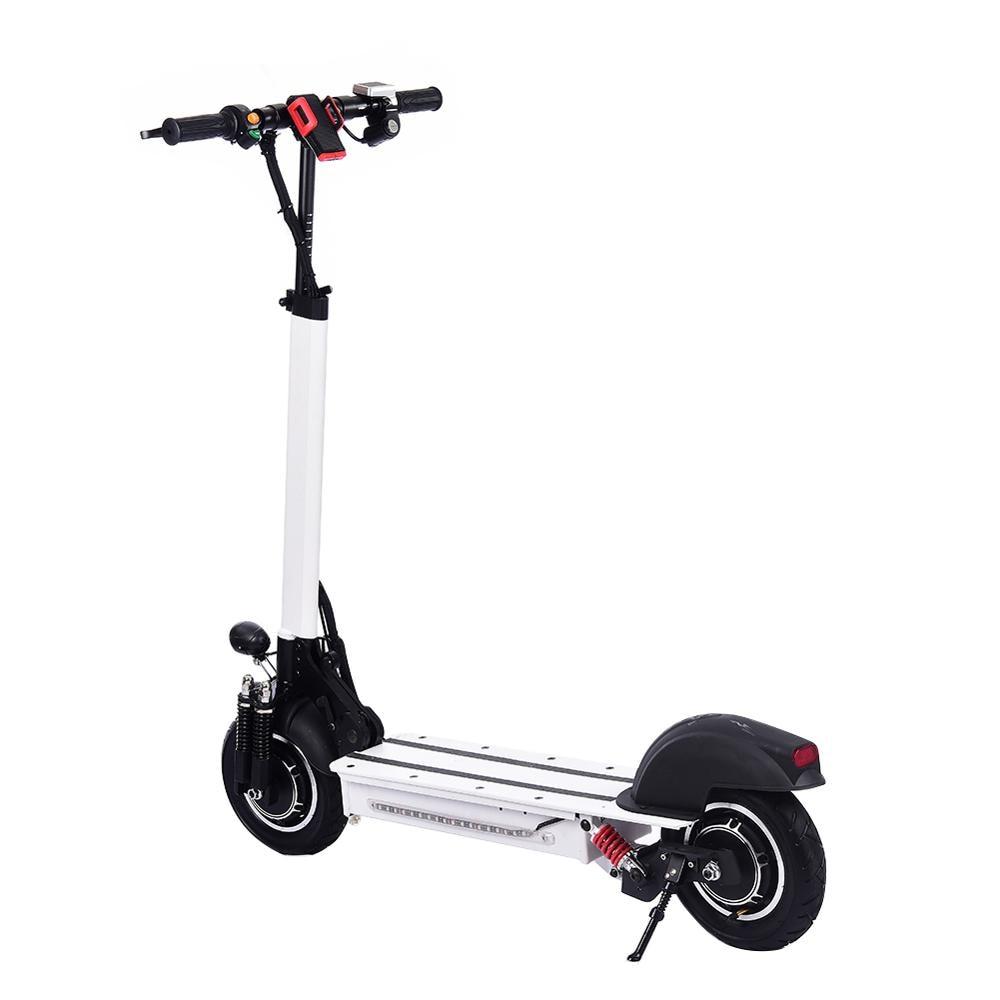 Scooter Eléctrico de 10 pulgadas 48 V/22AH 60 km/h 1200 W de aleación de aluminio de carga de motocicleta scooter para adultos