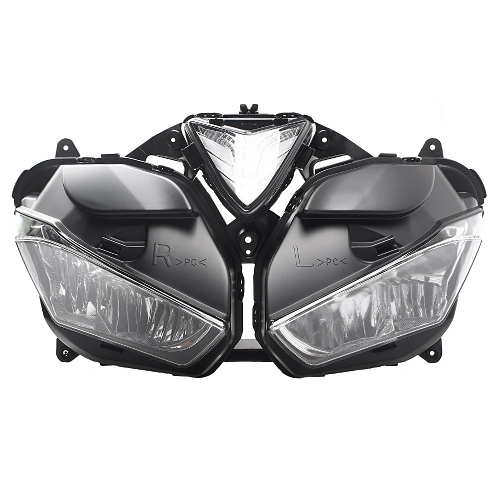 For Yamaha YZF-<font><b>R25</b></font> YZF <font><b>R25</b></font> YZF R3 2013 2014 2015 2016 2017 2018 <font><b>Headlight</b></font> Headlamp Motorcycle Head Light Lamp Assembly image