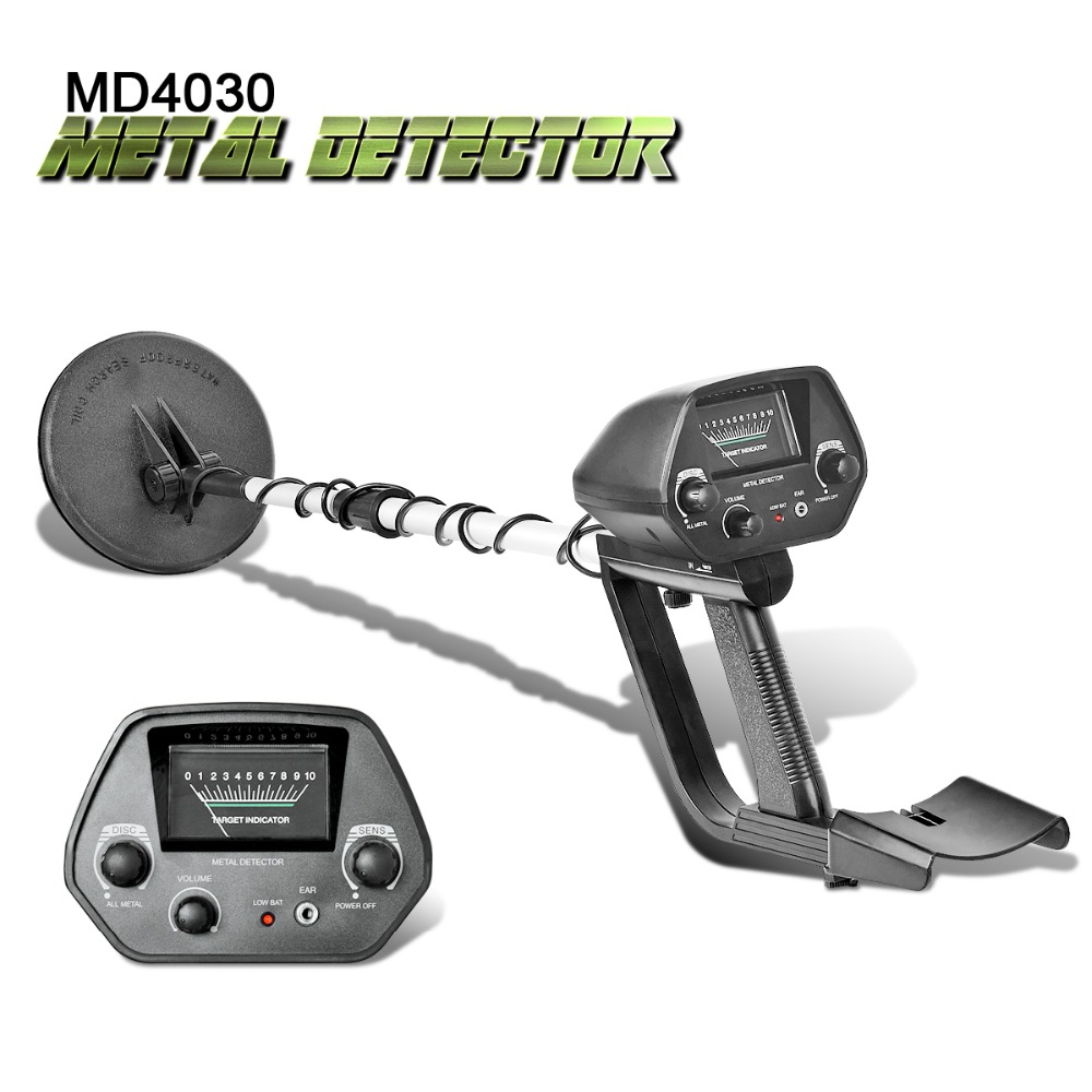 Underground MD-4030 Metal Detector Adjustable Gold Treasure Hunter Finder Detectors Under Shallow Water MD4030 Circuit Metales