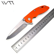 WTT HINDERER CTS-18HP XM18 Tactical Folding Knife D2 Blade G10 Handle Pocket Survival EDC Knives Outdoor Camping Hunting Tools