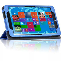 Luxury Tri Fold Ultra Slim Magnetic Folio Stand Holder Leather Case Cover For Chuwi Vi8 Win8