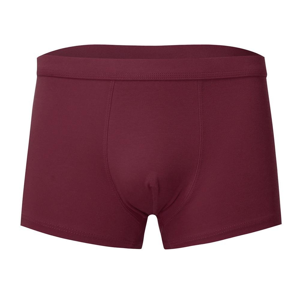 Sexy Briefs Underwear Shorts Men's Beach Soft Solid 30J18 Comfortable Hombre Casual