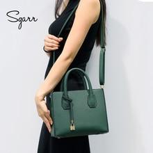 SGARR женские Сумки из искусственной кожи, маленькие сумки Bgas, модные женские сумки через плечо, роскошные винтажные женские сумки через плечо