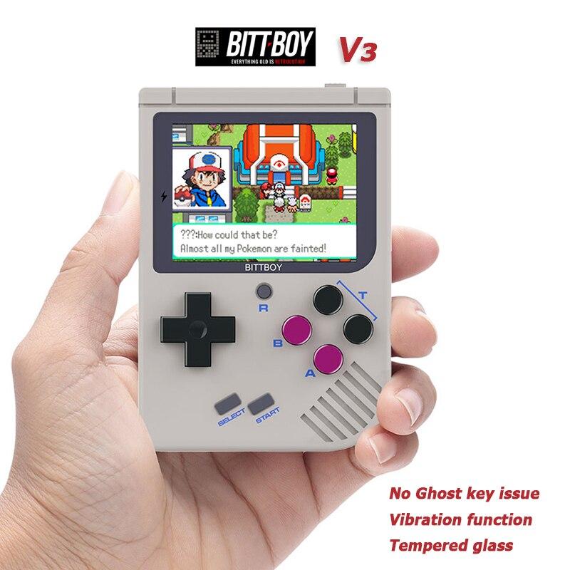 Spiel Handheld Konsole Unterstützung Retro Spiele Retro Konsole Cfw Installiert Alte Schule Spiele Handheld-spiel-spieler Flight Tracker Bittboy V3