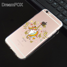 Apple iPhone Cartoon Soft Silicone Case Cover