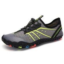 Clorts/Мужская водонепроницаемая обувь для улицы; сетчатая болотная обувь; Женская легкая дышащая обувь; быстросохнущая мягкая Летняя обувь