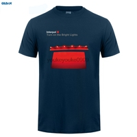 GILDAN New INTERPOL Turn On The Bright Lights Rock Band Men S Black T Shirt Size