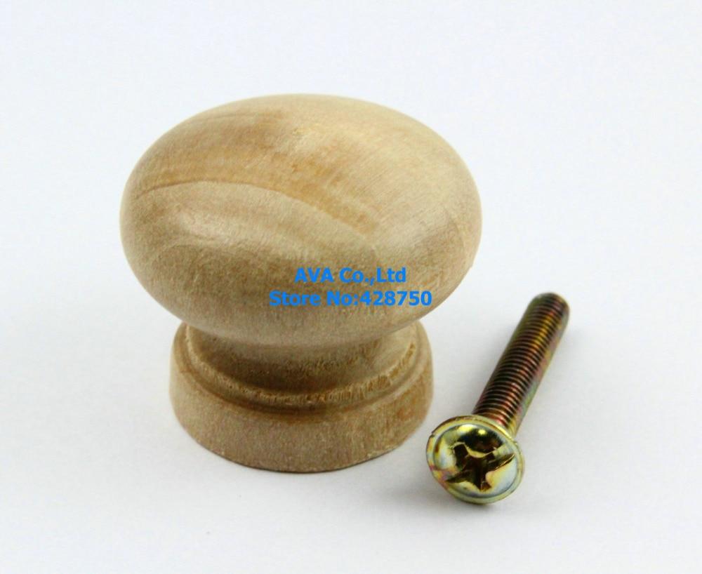 Nº20 unidades de cajón de madera tire gabinete perilla Muebles Mango ...