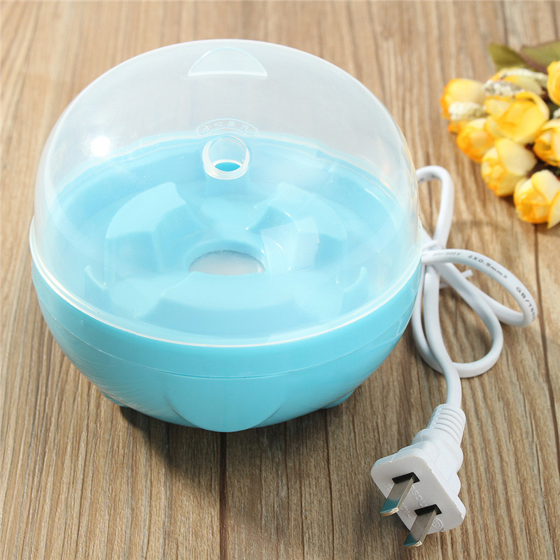 Electric Poacher Egg Steamer Rapid Boiler Breakfast Boiled Cooker 3 Eggs Cooking Stainless Steel ABS Red Blue cukyi double layer multi function electric egg cooker boiler stainless steel automatic power off mini