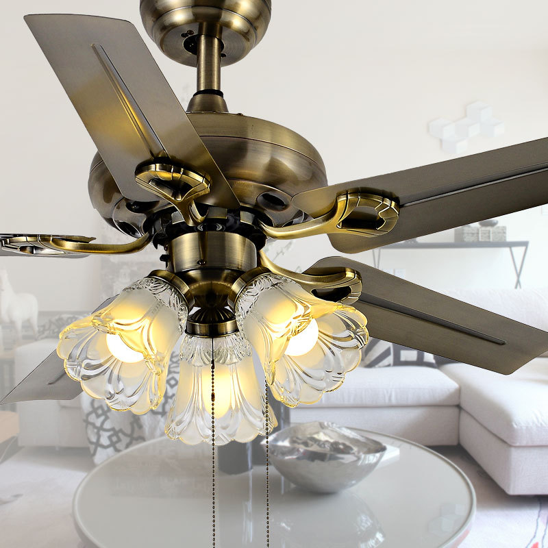 Brown Blades Super Cool Ceiling Fan