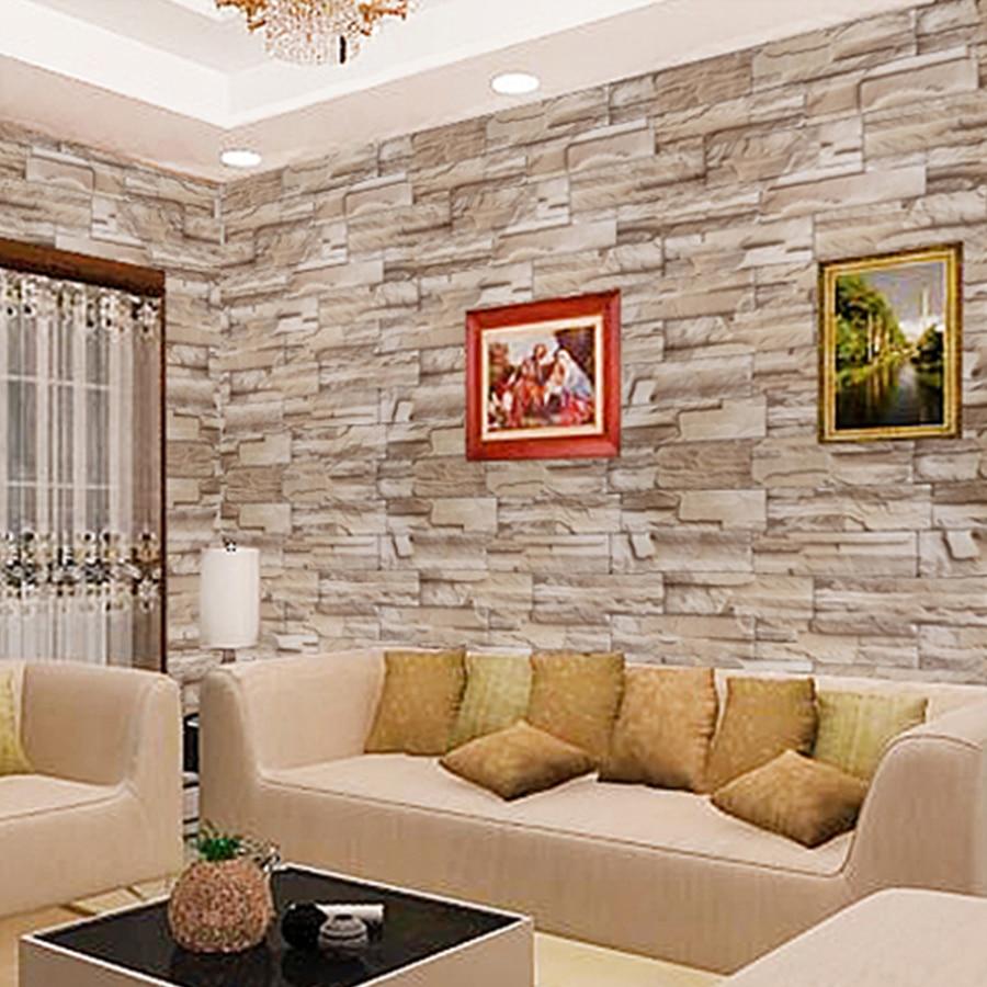 3M / 5M / 10M Αυτοκόλλητα τοίχου από τούβλα - Διακόσμηση σπιτιού - Φωτογραφία 3