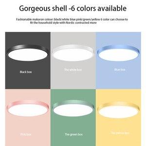 Image 5 - 30W โคมไฟเพดาน LED Flush Mount โคมไฟเพดาน 30 วัตต์ 6000K Cool สีขาวโคมไฟห้องครัวห้องโถงห้องน้ำ