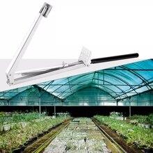 Автоматический Открыватель окна из алюминиевого сплава для теплицы, Открыватель окна на крышу, автоматический Открыватель окна для теплиц на солнечных батареях