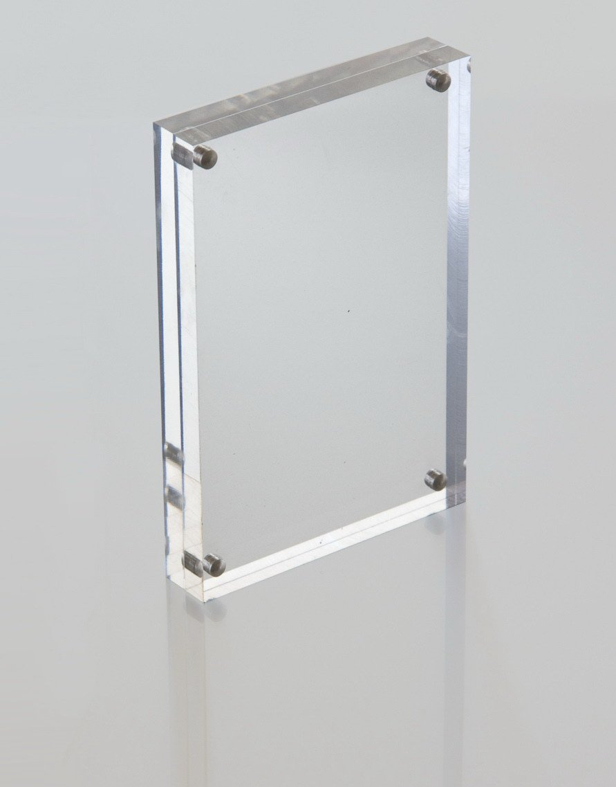buy acrylic photo frames magnetic and get free shipping on