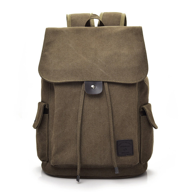 9fbdd85fc1af New Fashion Men s Backpack Bag Women Canvas Backpack Casual Bag high school  student college student bag Mochila