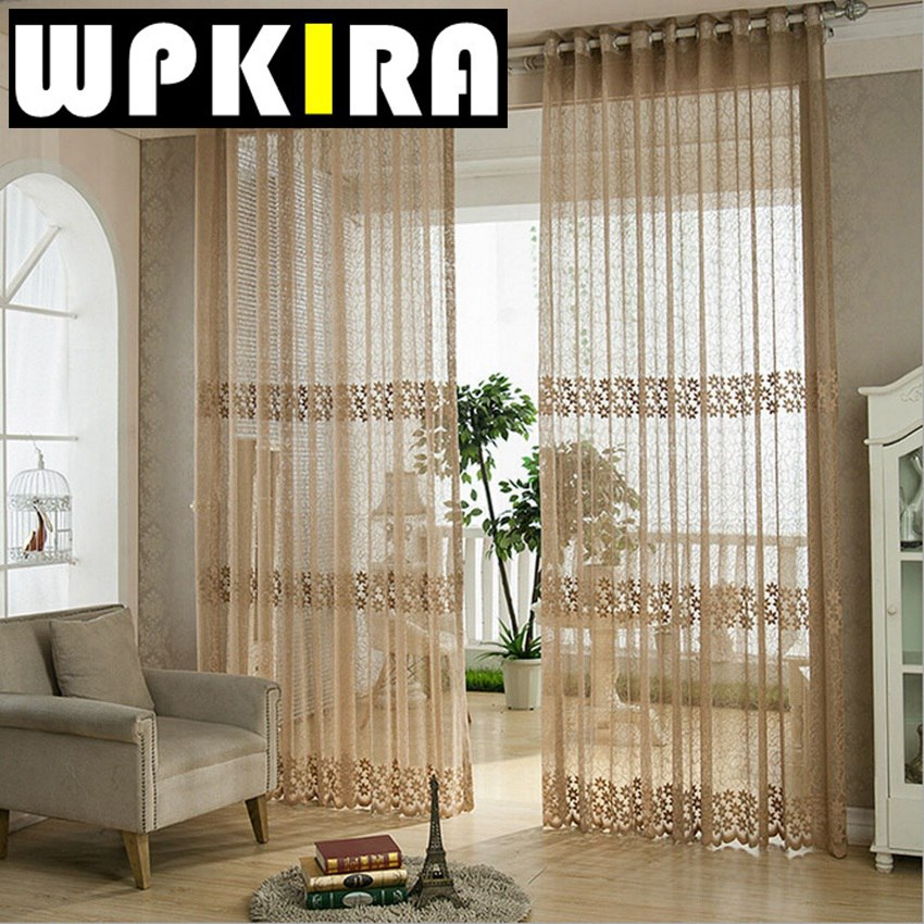 modern window curtains coffee curtains floral beige fancy curtain window  drapes tulle lace curtains living room - Curtains For Living Room. Curtains For Living Room Decorating
