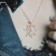 Women Fashion Shape Of Sun Connectors CZ Prong Setting Necklace,Four Plating Colors,Can Mix 5Pieces