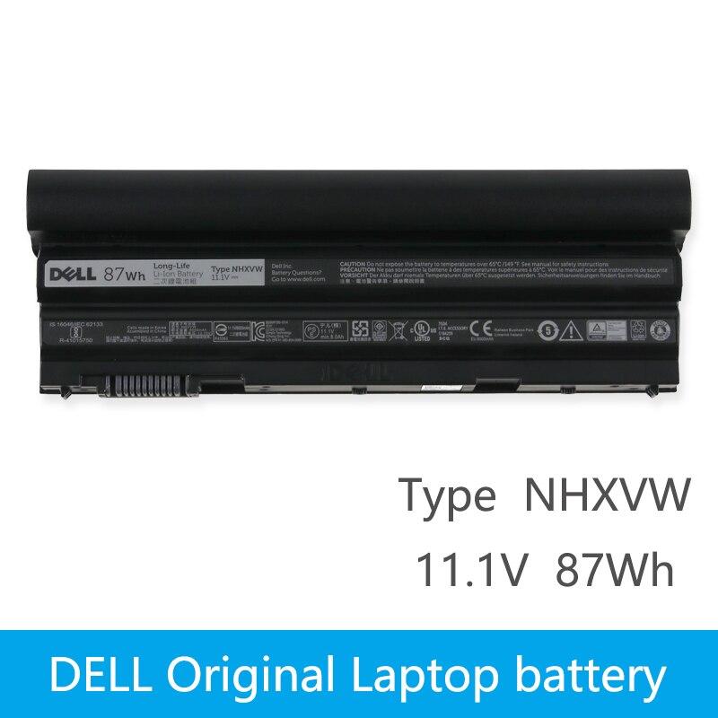Original Laptop battery For DELL Latitude E6420 E6520 E5420 E5520 E6430 71R31 NHXVW T54FJ 9CELL M5Y0X 11.1V 11 1v 97wh original laptop battery for dell latitude e6420 e5420 e6430 6520 free shipping t54fj 8858x bateria e6420