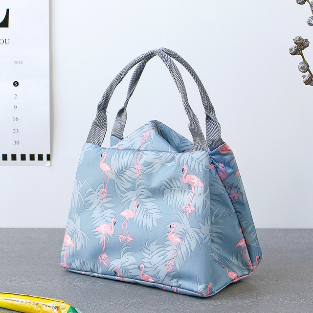 Fashion Travel Lunch Bag Tote Thermal Insulation Bag Waterproof Outdoor Park Portable Picnic Organizer Container