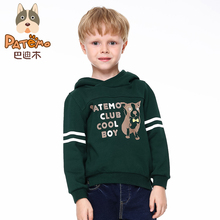 PATEMO Teens Hoodies For Boys 4T~10T Autumn/Winter Knitted Outerwear Jackets Long Sleeves High Quality Child Brand Clothing