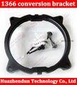 Free shipping 1366 conversion fan Fan heatsink Bracket Holder bracket shelf base snap