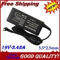 19 В 3.42A 5.5X2.5 мм Ноутбук Зарядное Устройство AC Адаптер Питания Toshiba SATELLITE c655 C660 A200 L300 L450 L500 1000 PA3714U-1ACA A205
