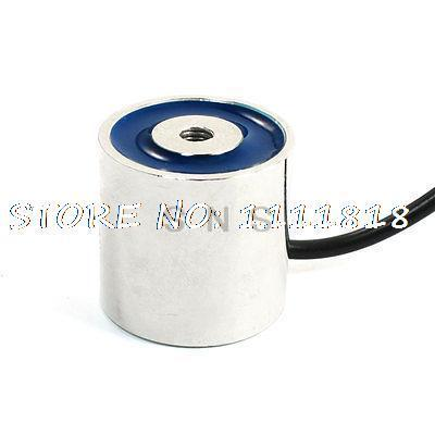 18Kg Sucking Disc Solenoid Lift Holding Electromagnet DC 12V 31x32mm