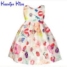 2016 Autumn Girl Dress Animal Print Candy Color Net Yarn Birthday Dress For Baby Girl Kids Clothes Children's Dresses  Zk0817 format kids girl 16 2017